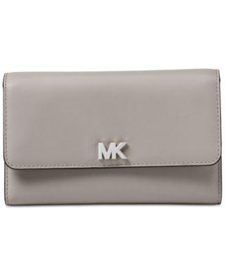 michael kors multi function leather wallet handbags accessories rh macys com