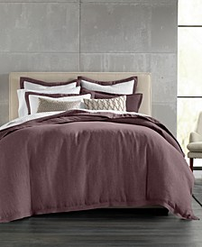 CLOSEOUT! Linen King Duvet Cover, Created for Macy's