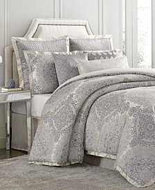 Charisma Edienne 4-Pc. Jacquard King Duvet Cover Set