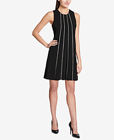 Tommy Hilfiger Matte Jersey Trapeze Dress