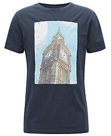 BOSS Men's Regular/Classic-Fit Graphic-Print Cotton T-Shirt
