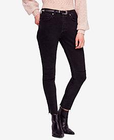 Free People Stella Rip & Repair Skinny Jeans