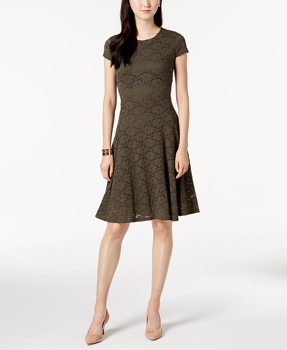 Green Lace Dresses For Women: Shop Lace Dresses For Women - Macy\'s