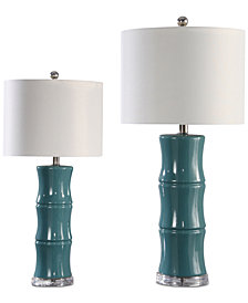 Abbyson Living Set of 2 Pargo Table Lamps