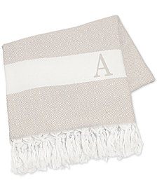 "Cathy's Concepts Personalized Beige Turkish 50"" x 60"" Throw"