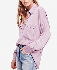 Free People Starry Dreams V-Neck Blouse
