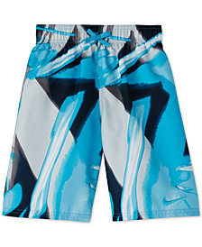 Nike Big Boys Printed Volley Swim Trunks