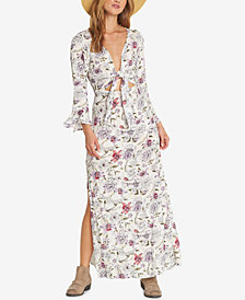 Billabong Juniors' Forever Printed Maxi Dress