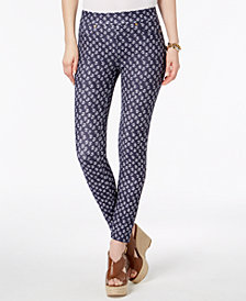 MICHAEL Michael Kors Printed Leggings in Regular & Petite Sizes