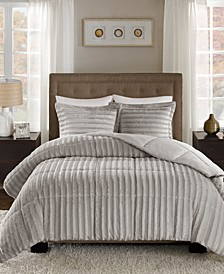 Duke Reversible 3-Pc. Full/Queen Comforter Set