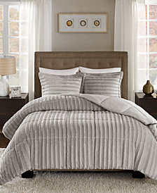 Madison Park Duke Reversible 3-Pc. Full/Queen Comforter Set