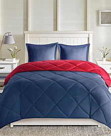 Madison Park Essentials Larkspur Reversible 3-Pc. King Comforter Set