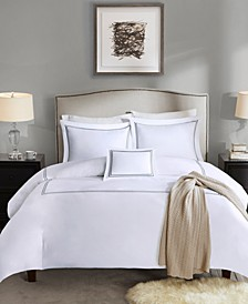 Signature Luxury Collection 4-Pc. Full/Queen Duvet Cover Set