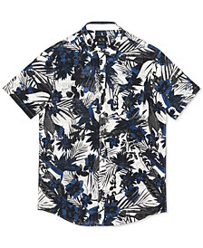 A|X Armani Exchange Men's Floral Shirt