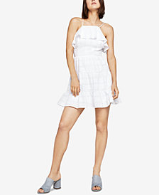 BCBGeneration Cotton Ruffled Dress
