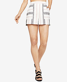 BCBGeneration Striped Patch-Pocket Shorts