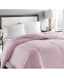 Royal Luxe Luxury Damask Stripe Down & Feather Comforter Collection