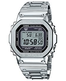Men's Digital Stainless Steel Bracelet Watch 42.8mm