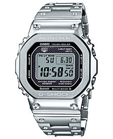 G-Shock Men's Digital Stainless Steel Bracelet Watch 42.8mm