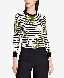 Lauren Ralph Lauren Printed Sweater