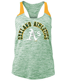 5th & Ocean Women's Oakland Athletics Space Dye Tank