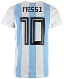 adidas Men's Lionel Messi Argentina National Team Player T-Shirt