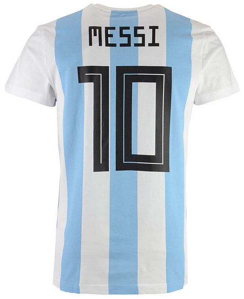 6172b2aa280 ... adidas Men's Lionel Messi Argentina National Team Player T-Shirt ...