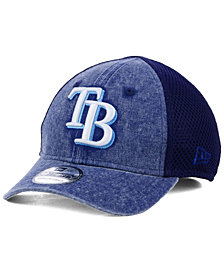 New Era Boys' Tampa Bay Rays Jr Hooge Neo 39THIRTY Cap