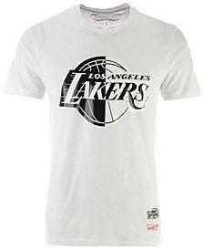 Mitchell & Ness Men's Los Angeles Lakers Black/White Split T-Shirt