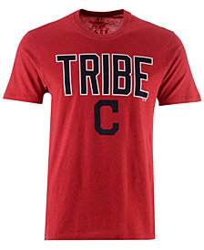 '47 Brand Men's Cleveland Indians Club Logo T-Shirt