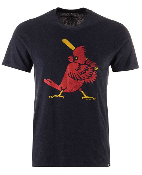 '47 Brand Men's St. Louis Cardinals Club Logo T-Shirt