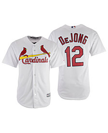 Majestic Men's Paul DeJong St. Louis Cardinals Player Replica Cool Base Jersey