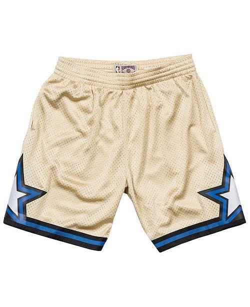 Mitchell   Ness Men s Orlando Magic Gold Collection Swingman Shorts ... 50c99c0615