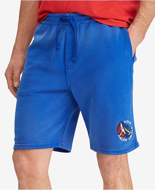 Polo Ralph Lauren Men s CP-93 Fleece Shorts - Shorts - Men - Macy s 30320d8ea