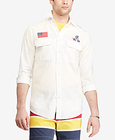 Polo Ralph Lauren Men's CP-93 Classic Fit Cotton Shirt