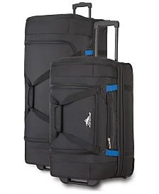 High Sierra Drop-Bottom Duffel Bag Collection