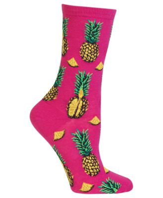 Quirky Accessories Pineapple Socks Tropical Patterned Ladies Socks