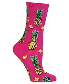 Hot Sox Women's Pineapple Socks