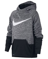 09ea0f9f4327 Nike Big Boys Therma Logo-Print Training Hoodie