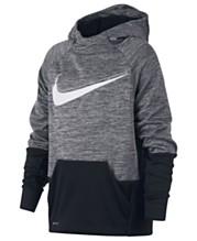 676188c09aa715 Nike Big Boys Therma Logo-Print Training Hoodie