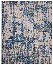 KM Home Steelo Cosmic Blue Area Rug Collection