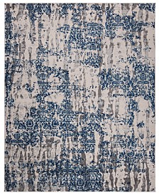 KM Home Steelo Cosmic Blue 8' x 10' Area Rug