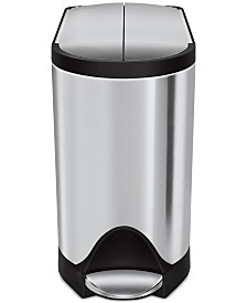 simplehuman 10L Butterfly Step Can