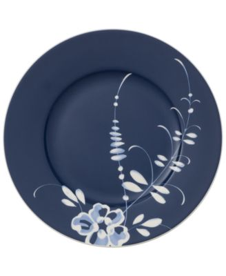 Old Luxembourg Brindille Blue Accent Salad Plate
