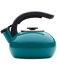 BonJour Tour Enamel on Steel Tour 1.5-Qt. Teakettle