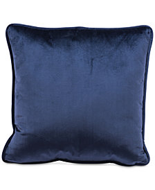 "Zuo Blue Velvet 17.7"" x 17.7"" Decorative Pillow"
