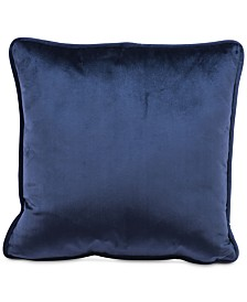"Zuo Blue Velvet 17.7"" x 17.7"" Decorative Pillow"