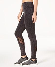 Ideology Space-Dyed Performance Leggings, Created for Macy's