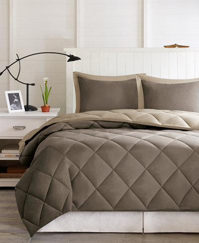 Madison Park Essentials Larkspur Reversible 3-Pc. Full/Queen Comforter Set