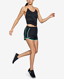 Under Armour Speed Stride Cross-Back Tank Top & Fly By Running Shorts